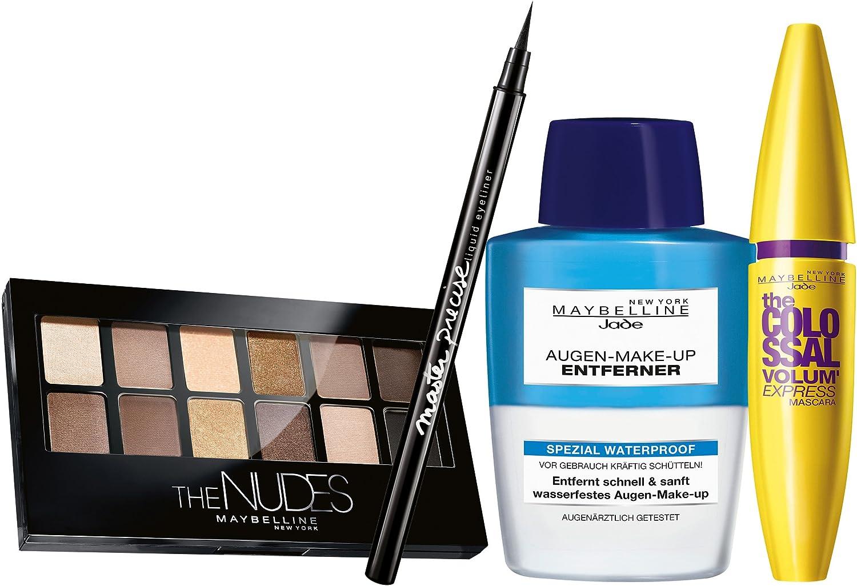Maletín de maquillaje Maybelline New York (con contenido), una unidad: Amazon.es: Belleza