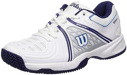 Wilson TOUR VISION V W, Zapatillas de tenis mujer, todos los niveles y terrenos, , tejido/sintético, blanco: Amazon.es: Zapatos y complementos
