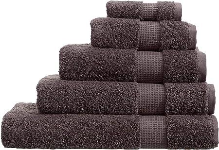Olivia Rocco - Toallas de algodón egipcio (700 g/m²), gris oscuro, XL Bath Sheet: Amazon.es: Hogar