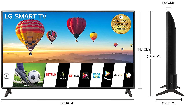 LG 80 cms (32 Inches) HD Ready LED Smart TV