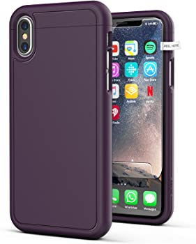 Encased iPhone X Slim Case w/ Screen Protector