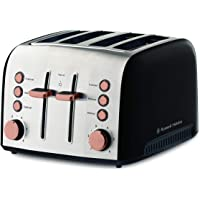 Russell Hobbs RHT94COP Brooklyn Toaster 4 Slice, Copper
