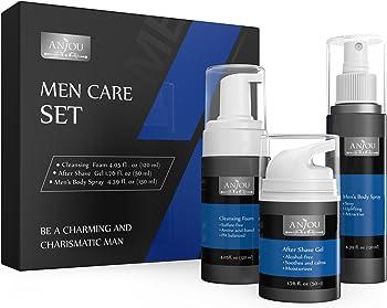 Anjou Mens Facial Skincare Kit