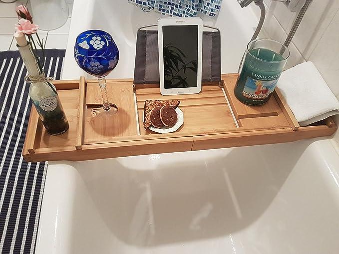 Vassoio Vasca Da Bagno : Mensola per vasca da bagno rixow vasca da bagno estensibile per