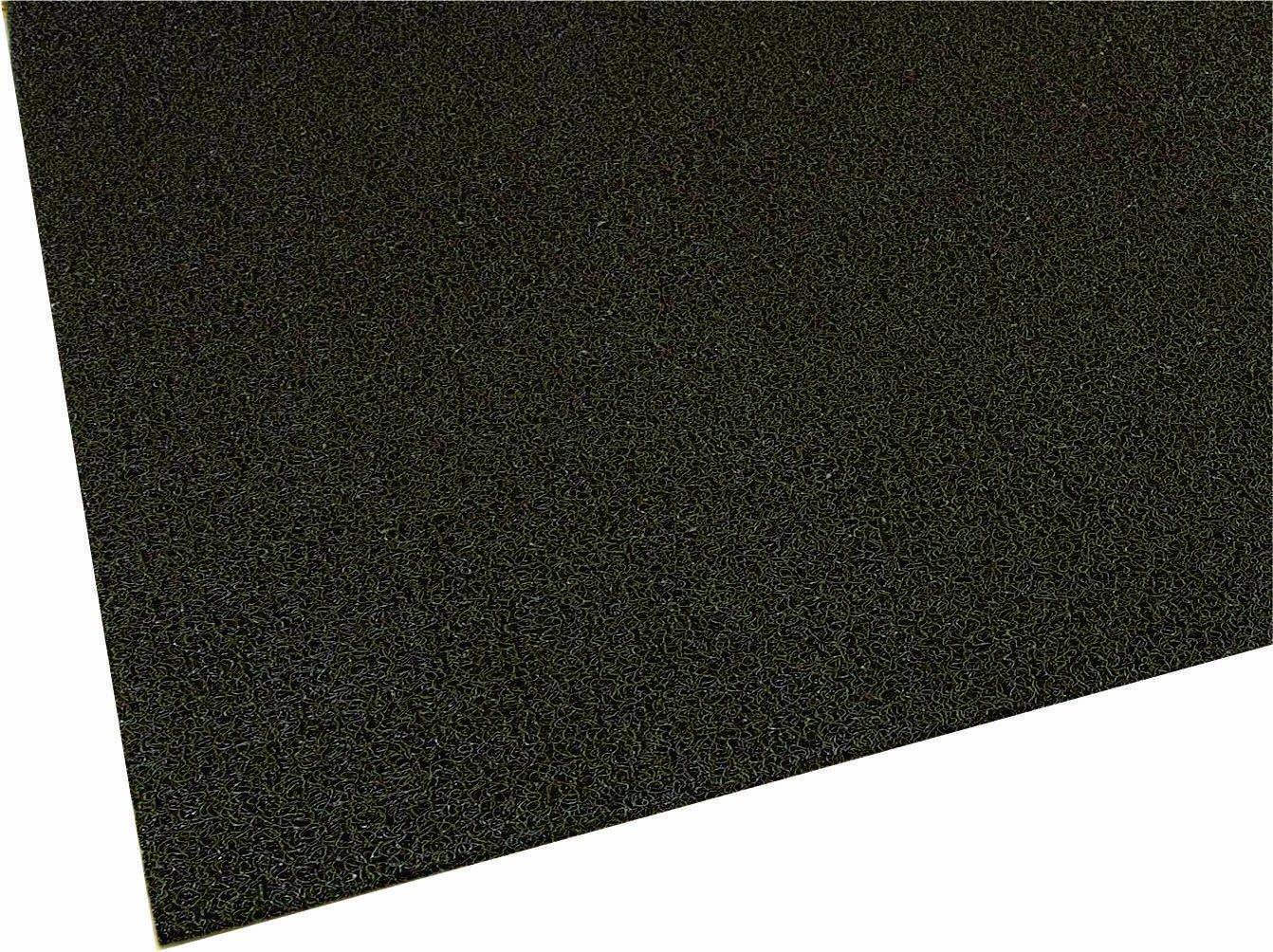 M A Matting 437 Brown Vinyl Loop Frontier Scraper Mat, 3 Length x 2 Width, for Indoor Outdoor