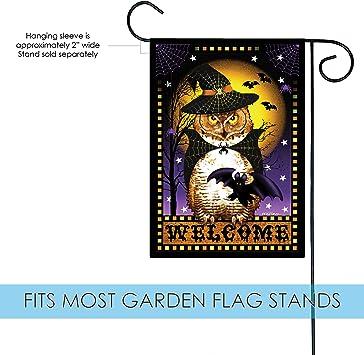 Amazon Com Toland Home Garden 1110560 Halloween Fortune 12 5 X 18 Inch Decorative Garden Flag 12 5 X 18 Garden Outdoor