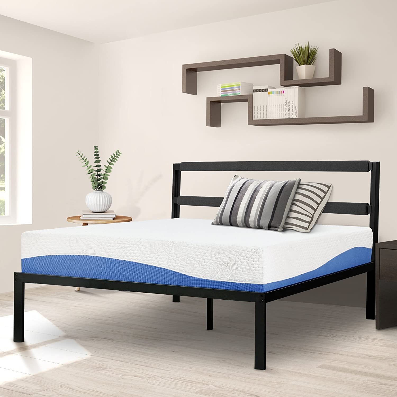 Olee Sleep Bed Frame, Black
