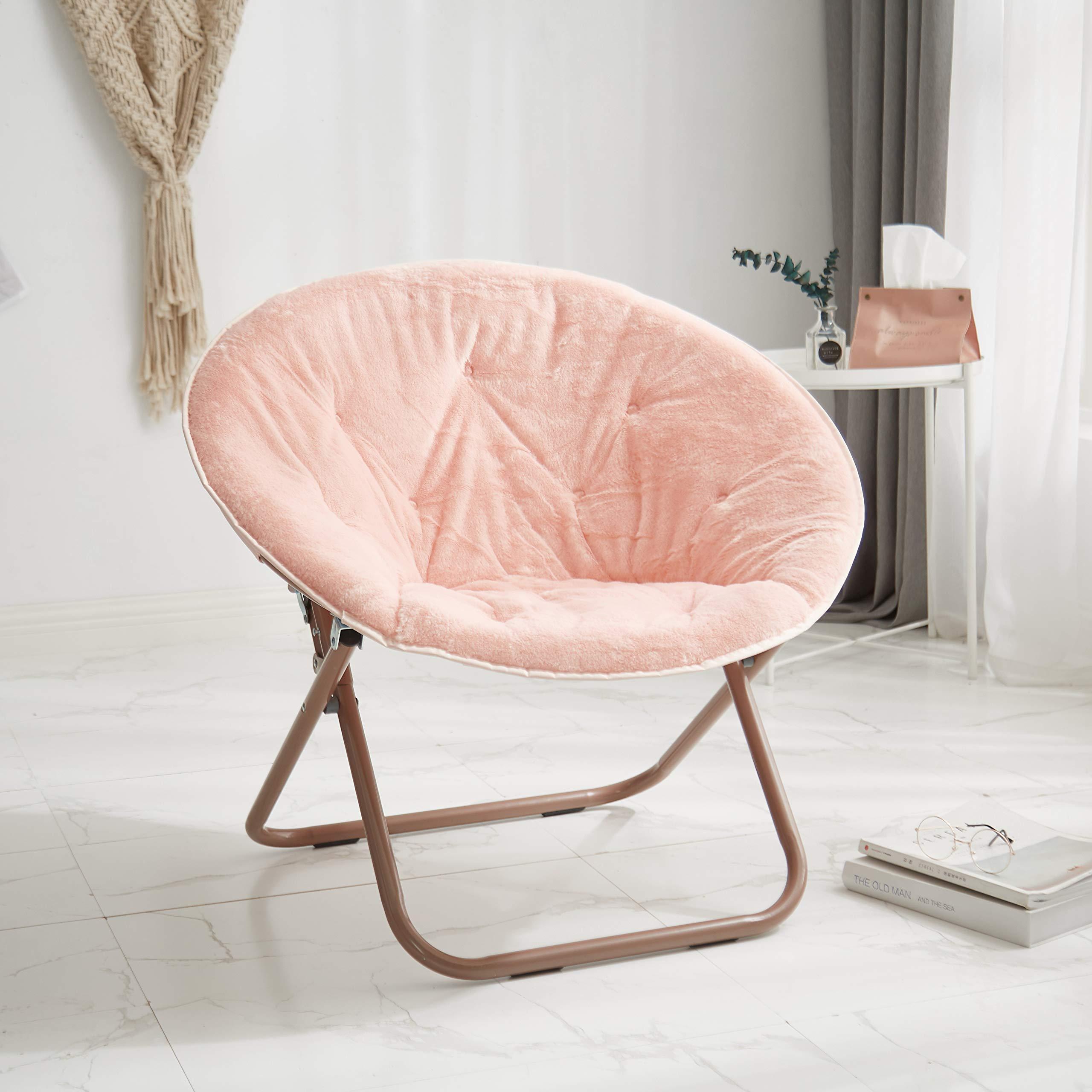 Urban Shop Faux Saucer Chair