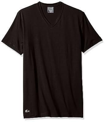 6747f4e917c0 Lacoste Men s Short Sleeve V N Sleep Tee at Amazon Men s Clothing store