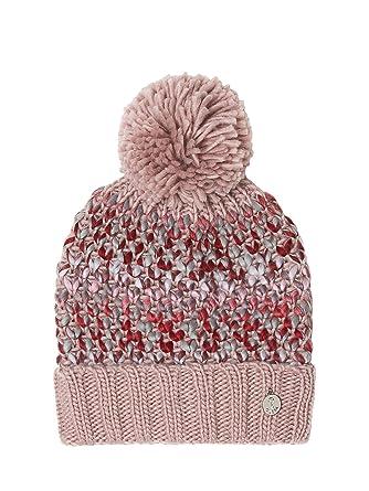 768e8c8eb467 Guess Bonnet Femme Multicolore à Pompon Rose  Amazon.fr  Vêtements ...