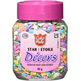 Cake Mate, Decorating with Ease, Decors Star Sprinkles, Rainbow, 82g