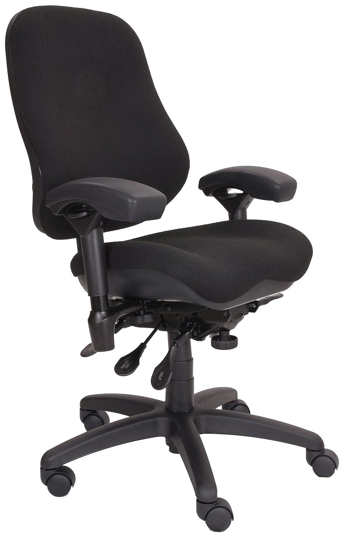 Amazon.com BodyBilt J2507x Black Fabric High Back Task Ergonomic Chair with Arms 22  Length x 21.50  Width Backrest 21  Width Seat Grade 3 Comfortek ...  sc 1 st  Amazon.com & Amazon.com: BodyBilt J2507x Black Fabric High Back Task Ergonomic ...