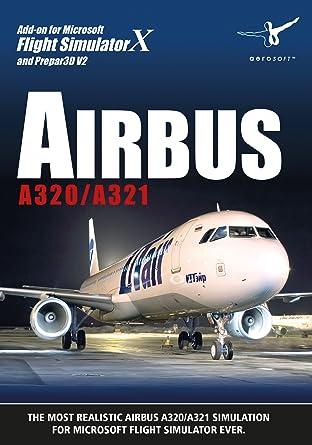 amazon com airbus a320 a321 fsx p3d video games rh amazon com American A321 Airlines Airbus Airbus A330