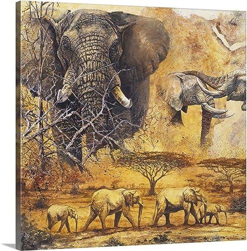 Safari II Canvas Wall Art Print