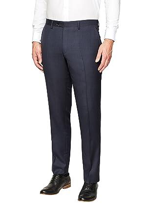 next Hombre Traje Lana Italiana Signature: Pantalones Corte ...