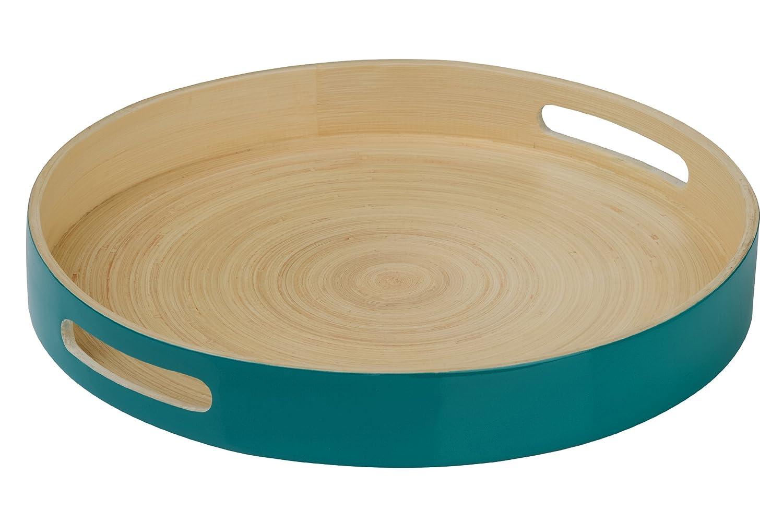 Famous Premier Housewares Kyoto Spun Bamboo Round Serving Tray - 5 x 35 x  LU18