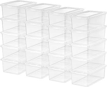 20-Pack IRIS USA, Inc. CNL-5 Storage Box, 5 Quart