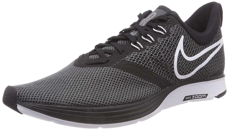 size 40 4c2f2 b10a2 Nike Women's Zoom Strike Running Shoe Black/White-Dark Grey 8.5