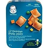 GERBER LIL'ENTRÉES Ravioli, Toddler Food, Meal, 12+ months, 187 g, 8 Pack
