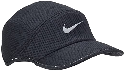wholesale sales new lower prices 100% authentic Amazon.com: Nike Mesh Daybreak Running Hat Black/Reflective ...