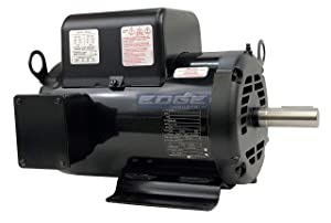 5HP BALDOR COMPRESSOR DUTY INDUSTRIAL ELECTRIC MOTOR, 184T, 1750 RPM, 208-230V