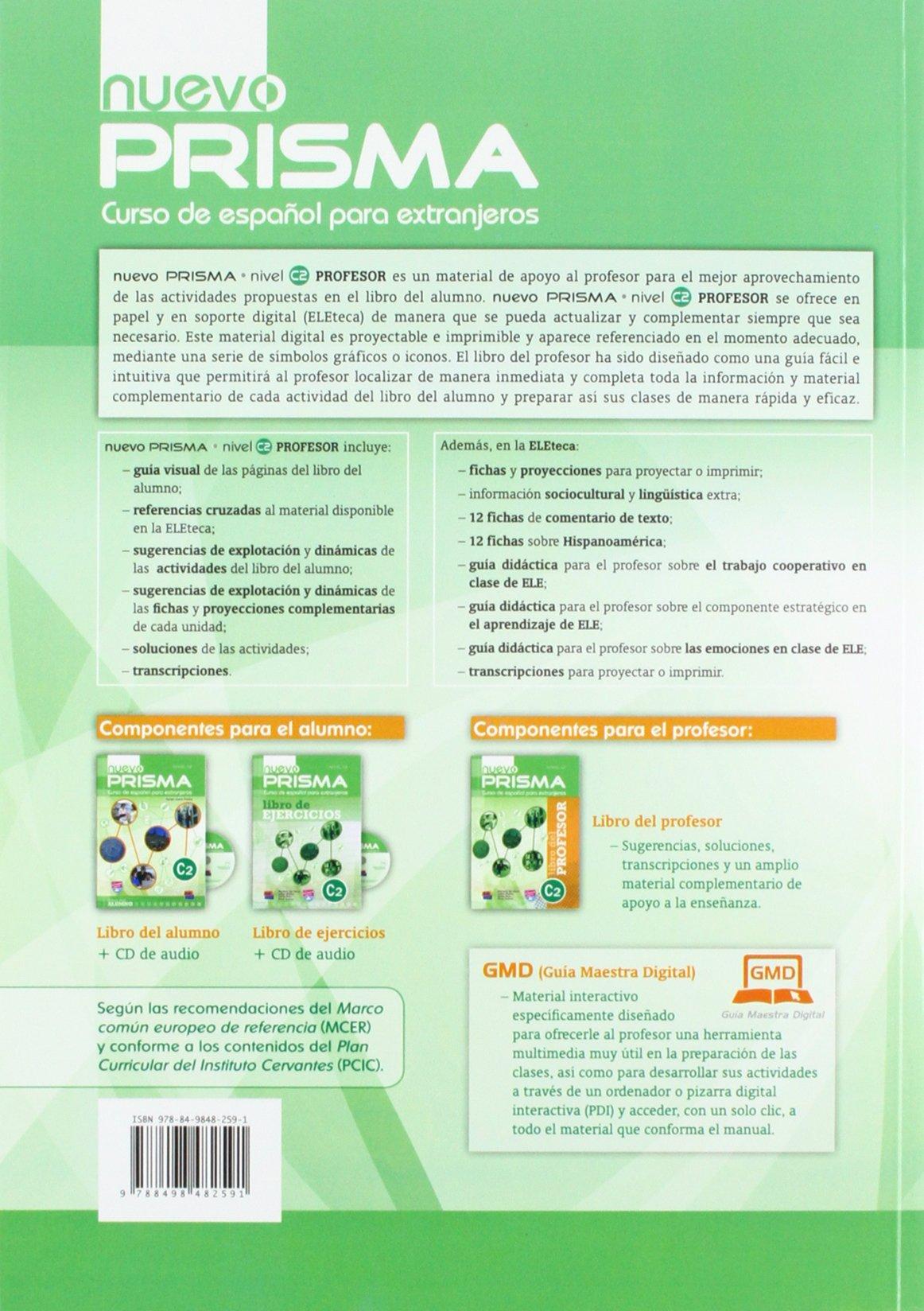 Nuevo PRISMA Nivel C2: Curso de Español para extranjeros ...