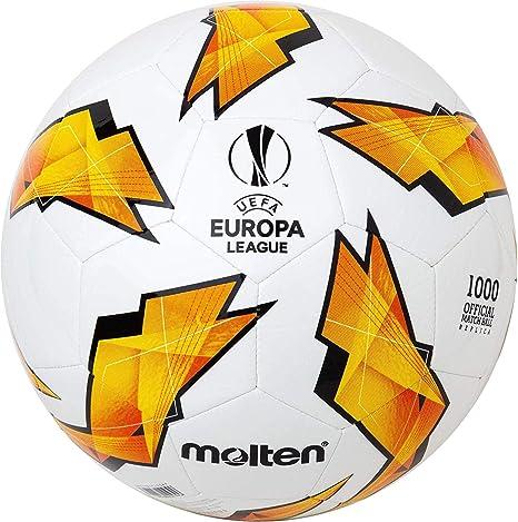 Molten 1000 - Balón de fútbol de la Liga de Europa, UEFA, Color ...