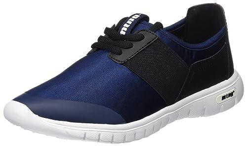 MTNG Speed Chica, Zapatillas de Deporte para Mujer, Azul (Raso Marino), 36 EU: Amazon.es: Zapatos y complementos