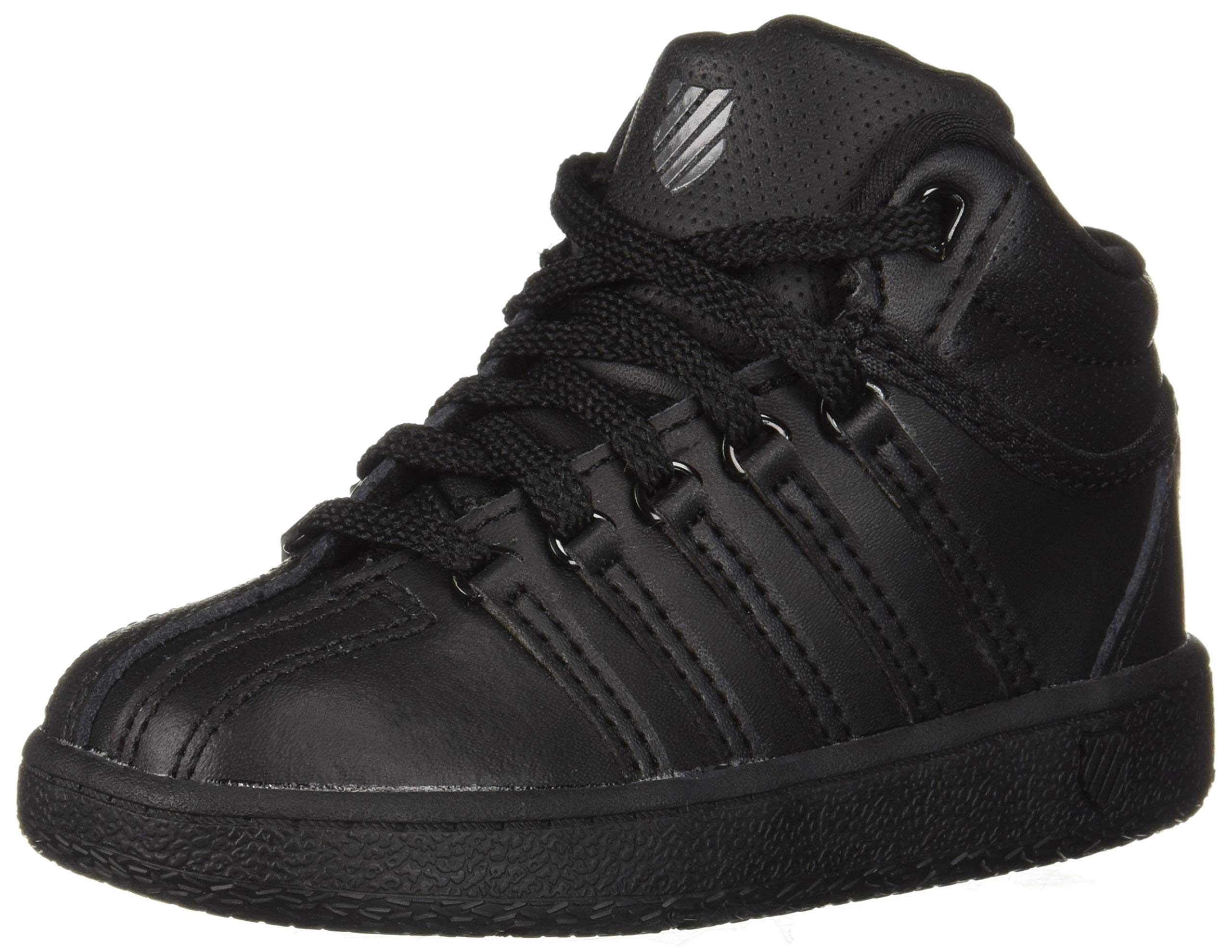 K-Swiss Classic VN Mid Shoe, Black/Black, 10 M US
