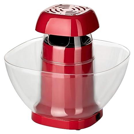 POPCORN Maker XL 1200 W | palomitas para toda la familia | sencillo y práctico con aire caliente sin aceite, 4 minutos de tiempo de preparación, ...