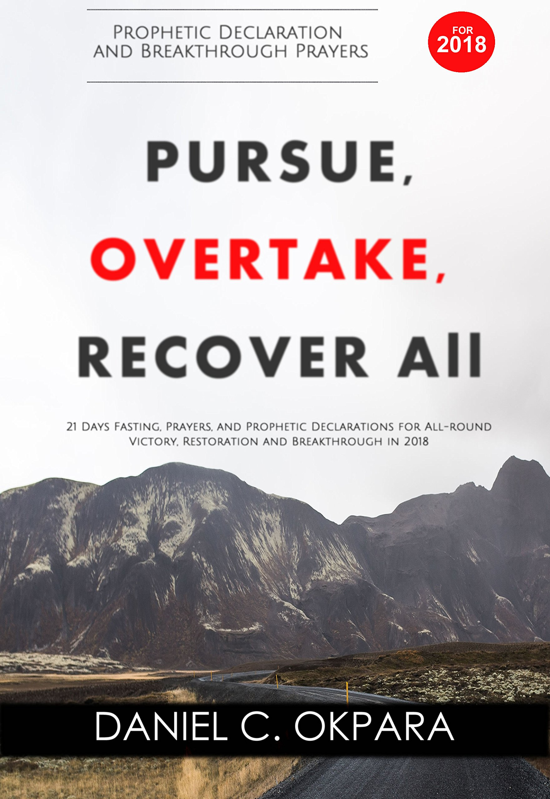 Prophetic Declaration And Breakthrough Prayers For 2018   Pursue Overtake Recover All  English Edition
