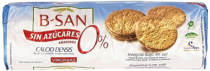 Virginias - B-San sin azúcares añadidos - Galletas integrales - 180 ...