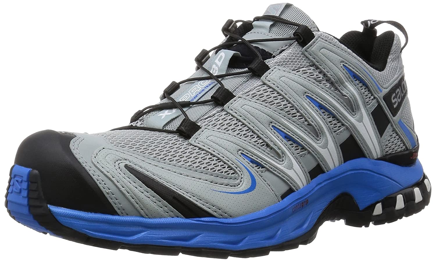 Salomon XA Pro 3D Men Größe UK 8,5 light onix-bright Blau-dark cloud