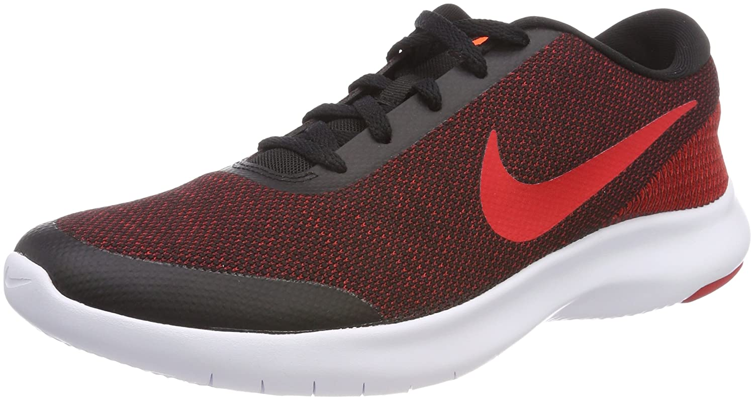 NIKE Men's Flex Experience 7 Running Shoe B072854668 14 M US|Black/University Red - Gym Red