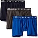 BOSS Hugo Men's Boxer Briefs Pack of 3