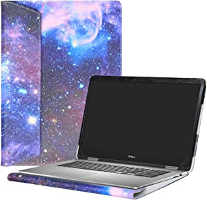 """Alapmk Protective Case Cover For 15.6"""" Dell Inspiron 15 2-in-1 7573 i7573 & Inspiron 15 i7570 i7580 7570 7580 Laptop(Warning:Only fit model 7573 7570),Galaxy"""