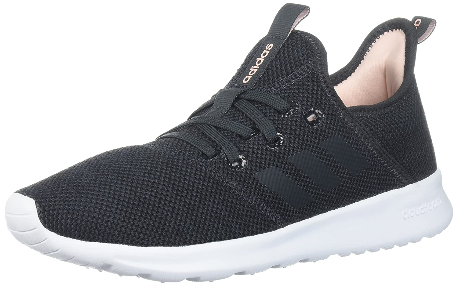 adidas Women's Cloudfoam Pure Running Shoe B0719HX825 9 B(M) US|Carbon/Carbon
