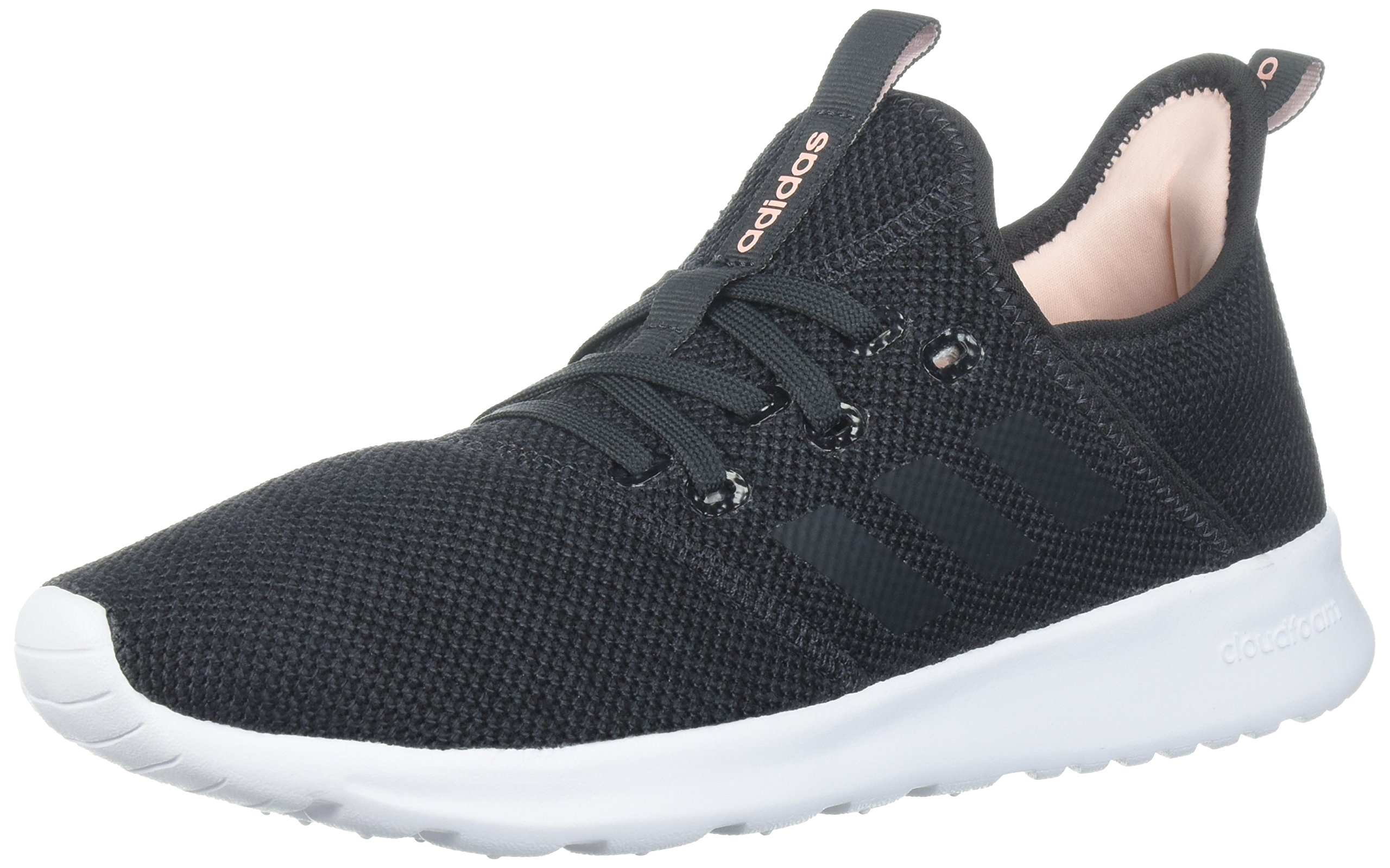 adidas Performance Women's Cloudfoam Pure Running Shoe, Carbon/Carbon, 5 M US by adidas (Image #1)