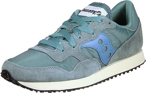 Saucony DNX Trainer Vintage Aqua Gris n.36  Amazon.it  Scarpe e borse 2e4fa88b9f9