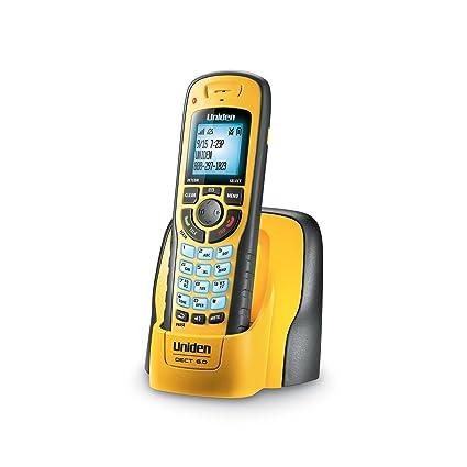 amazon com uniden dect 6 0 cordless phone with submersible rh amazon com Cordless Phone Uniden Wx1477 Uniden WXI3077 Cordless Phone