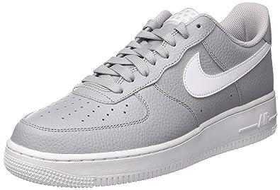 Nike Air Force 1 '07, Chaussures de Gymnastique Homme, Gris (Vapste Greyblacksummit White 008), 41 EU