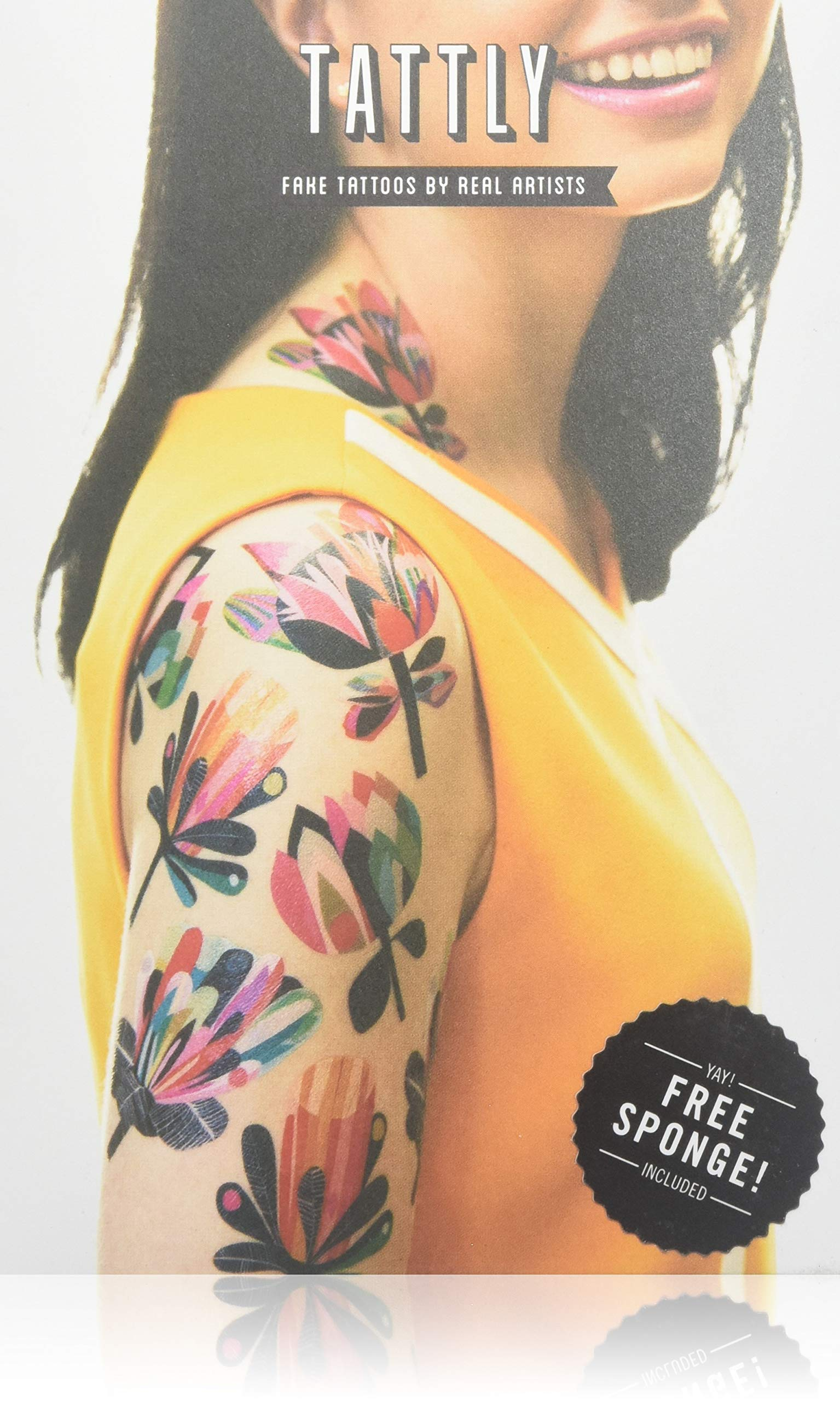 Tattly Temporary Tattoos Mod Florals Set