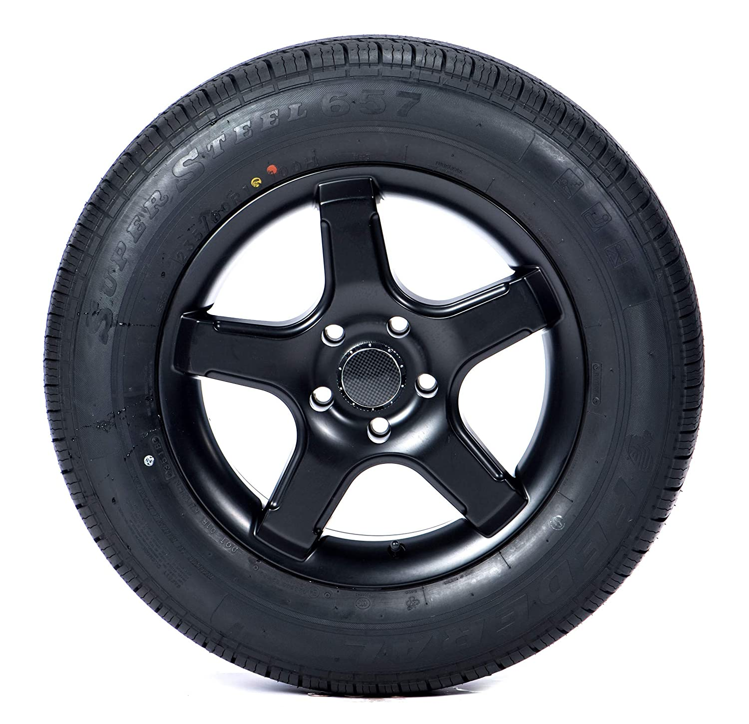 Federal SS-657 Touring HP Radial Tire-155//80R12 77T