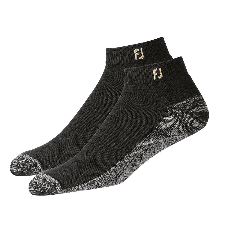 FootJoy Golf ProDry Sport Black Socks - 2 Pair Pack