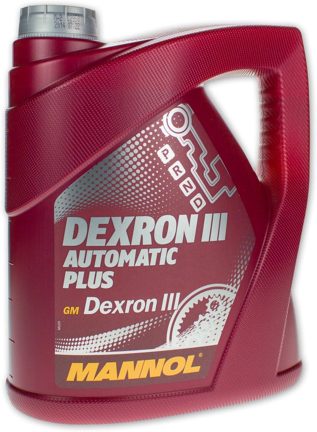 MANNOL Dexron III Automatic Plus, 4Litro