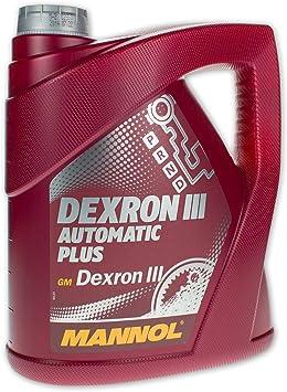 Mannol Dexron Iii Automatic Plus Transmission Fluid 1 Litre Auto