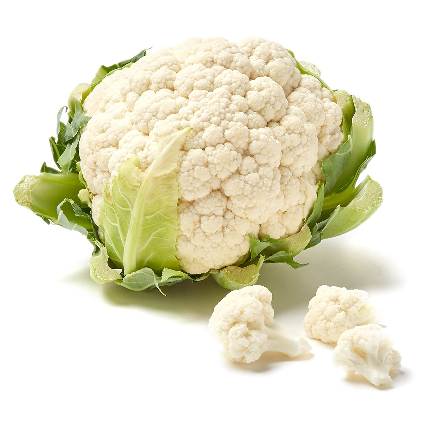Organic Cauliflower, One Head