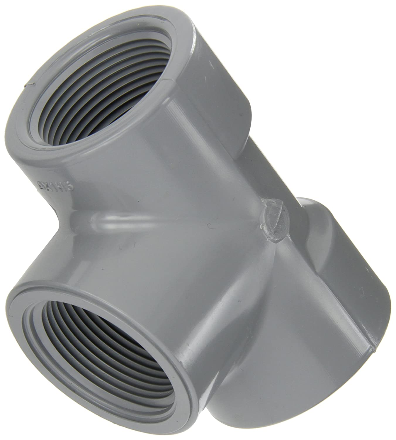 Schedule 80 Spears 805-C Series CPVC Pipe Fitting 1//2 NPT Female 1//2 NPT Female Spears Manufacturing 805-005C Tee