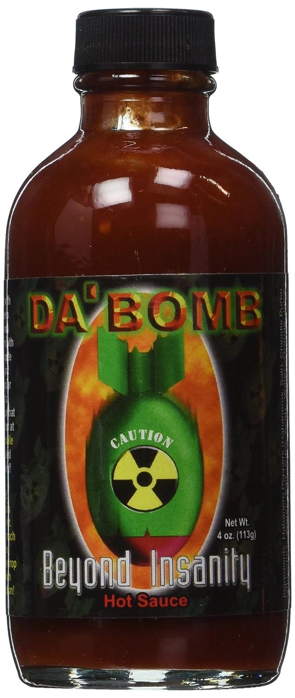 Bottle Da Bomb Beyond Insanity Hot Sauce, Bottle