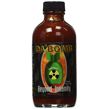 Da Bomb Beyond Insanity Hot Sauce, Bottle